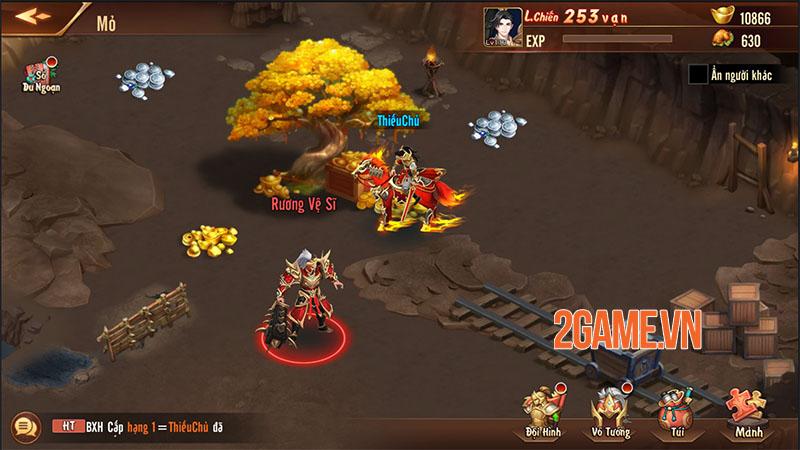 Quá trời hoạt động để người chơi tham gia trong Tân OMG3Q VNG 3