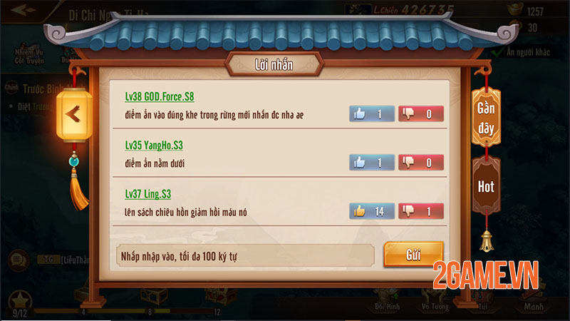 Quá trời hoạt động để người chơi tham gia trong Tân OMG3Q VNG 4