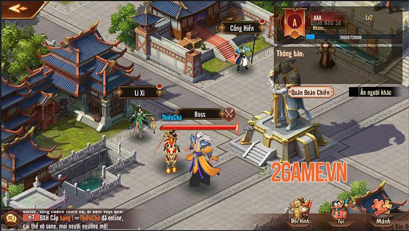 Quá trời hoạt động để người chơi tham gia trong Tân OMG3Q VNG 6