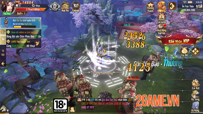 Thiên Long Kỳ Hiệp VGP – Kẻ đến sau thâu tóm mọi tinh hoa của game kiếm hiệp 1