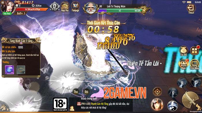 Thiên Long Kỳ Hiệp VGP – Kẻ đến sau thâu tóm mọi tinh hoa của game kiếm hiệp 6