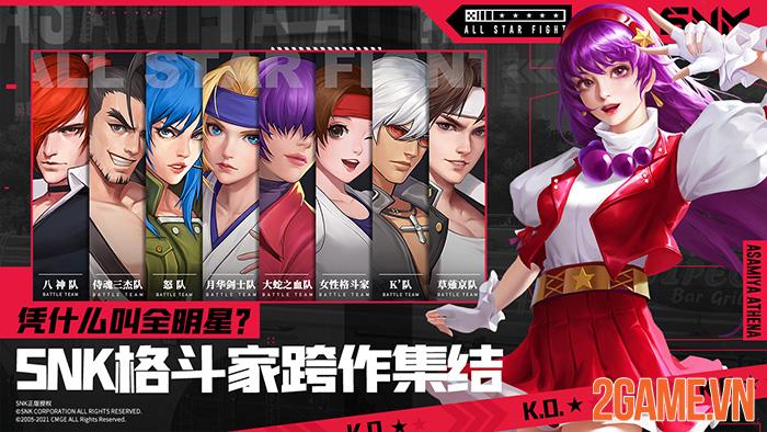 All Star Fight - Game đối kháng mobile tụ hội tất cả anh tài của SNK 1