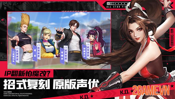All Star Fight - Game đối kháng mobile tụ hội tất cả anh tài của SNK 3