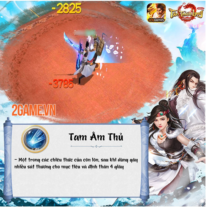 Cộng đồng Tân Thiên Long Mobile VNG quá ấn tượng với Côn Lôn 5