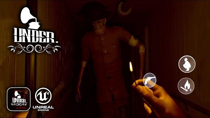 Under: Depths of Fear - Game nhập vai kinh dị có tiếng trên PC ra mắt iOS 0