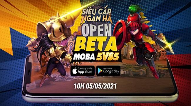 Hyper Rank – Siêu Cấp Ngân Hà: Game MOBA chibi 5v5 ấn định ra mắt Open Beta