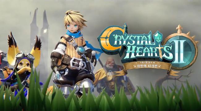 Crystal Hearts 2 – Game mobile hấp dẫn của Netmarble và LINE Games