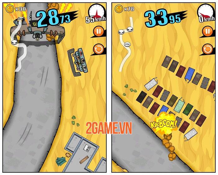 Top 5 tựa game đua xe đồ họa 2D hay nhất cho Android và iOS 2