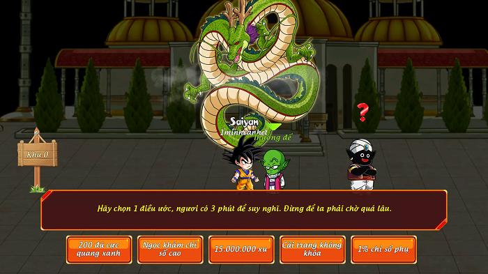 Gọi Rồng Online tặng giftcode đặc biệt mừng mở server tháng 5 1