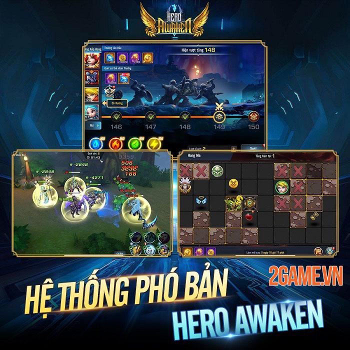 Hero Awaken - Siêu phẩm thẻ tướng chiến thuật đa vũ trụ sẽ ra mắt tháng 5 2