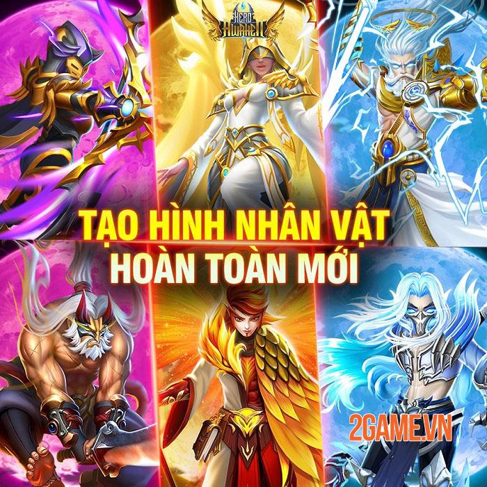 Hero Awaken - Siêu phẩm thẻ tướng chiến thuật đa vũ trụ sẽ ra mắt tháng 5 1