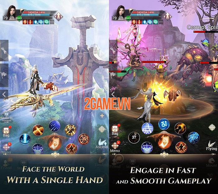 Perfect World: Revolution - Đối mặt với thế giới MMORPG 3D bằng 1 tay 1
