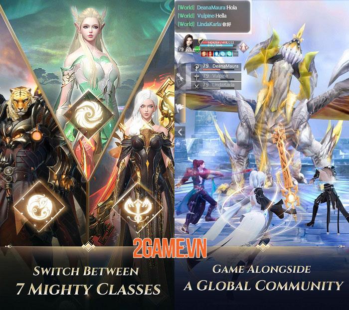 Perfect World: Revolution - Đối mặt với thế giới MMORPG 3D bằng 1 tay 2