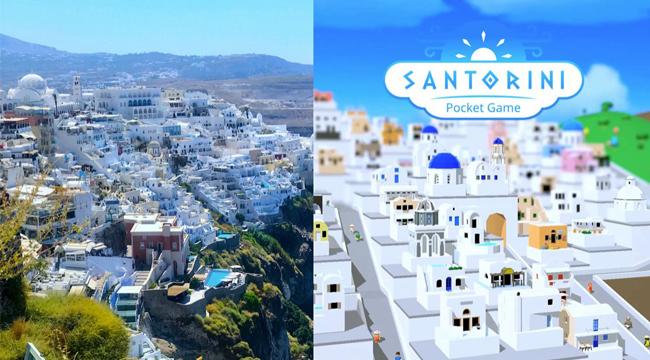 Santorini: Pocket Game – Cách ly vẫn có thể đến thiên đường nghỉ dưỡng