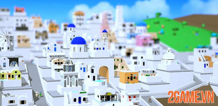 Santorini: Pocket Game - Cách ly vẫn có thể đến thiên đường nghỉ dưỡng 2