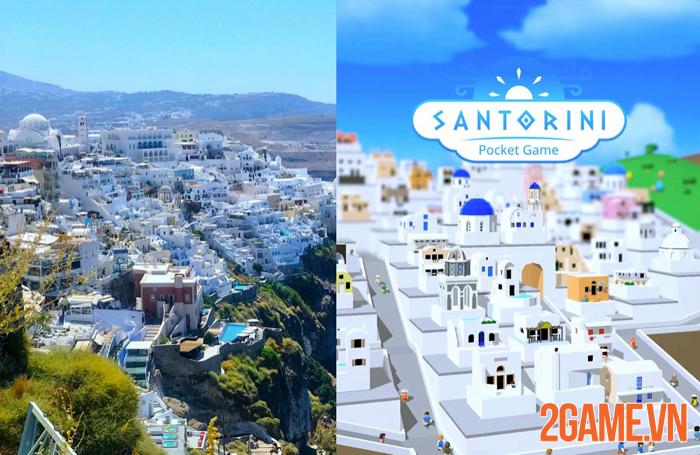 Santorini: Pocket Game - Cách ly vẫn có thể đến thiên đường nghỉ dưỡng 0