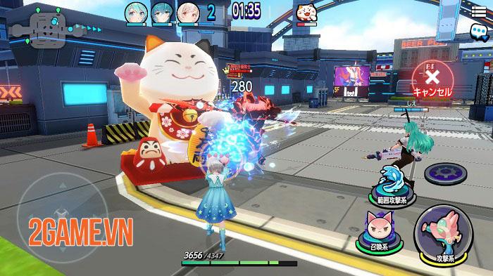 Bubble and Doll - Game MOBA bắn súng 3v3 phong cách anime 4