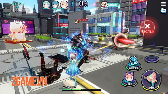 Bubble and Doll - Game MOBA bắn súng 3v3 phong cách anime 5