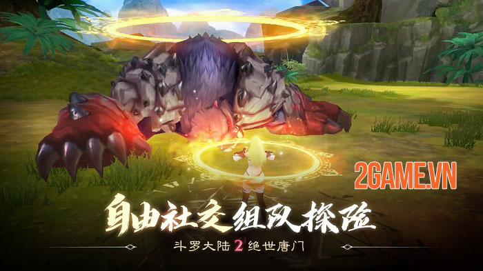 Đấu La Đại Lục 2 Mobile - Game MMORPG thế giới mở đỉnh cao từ tiểu thuyết gốc 3