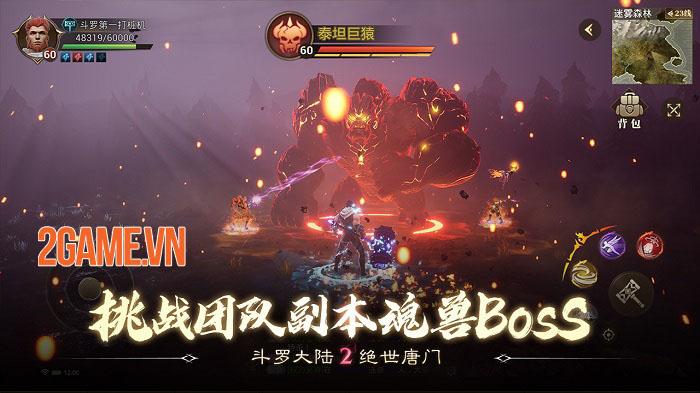 Đấu La Đại Lục 2 Mobile - Game MMORPG thế giới mở đỉnh cao từ tiểu thuyết gốc 4