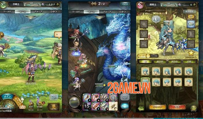 Mitrasphere - Game nhập vai đồ họa anime tuyệt đẹp từ Crunchyroll Games 0