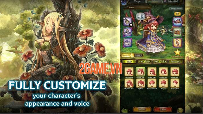 Mitrasphere - Game nhập vai đồ họa anime tuyệt đẹp từ Crunchyroll Games 4