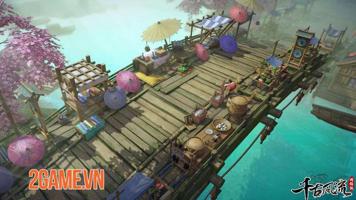 Thiên Cổ Phong Lưu Mobile - Game MMORPG 2,5D chất lượng hình ảnh cực nét 1