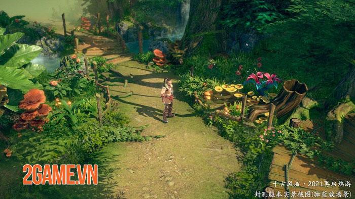 Thiên Cổ Phong Lưu Mobile - Game MMORPG 2,5D chất lượng hình ảnh cực nét 2