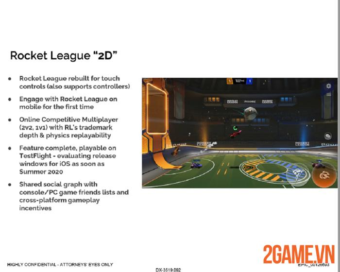 Epic Games âm thầm phát triển Rocket League Mobile mới dằn mặt Apple 0