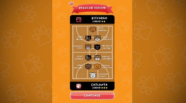 BasCATball Coach – Game thể thao huấn luyện mèo chơi bóng rổ thú vị