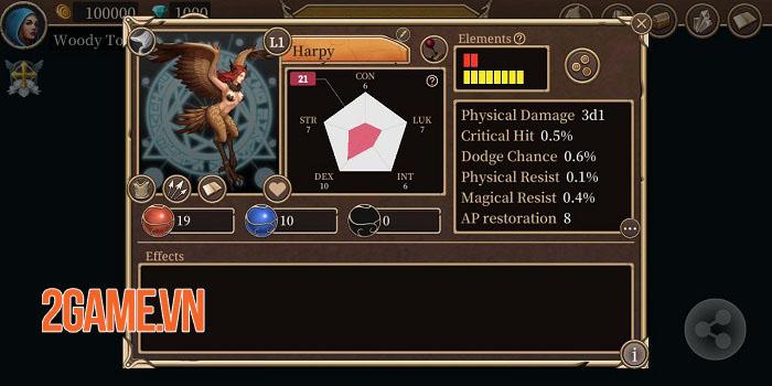 Monster Lord 2: Destiny - Game nhập vai lấy cảm hứng từ Dungeons And Dragons 1