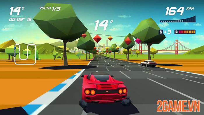 Horizon Chase - Trải nghiệm tốc độ và cảm giác thót tim trên mobile 2
