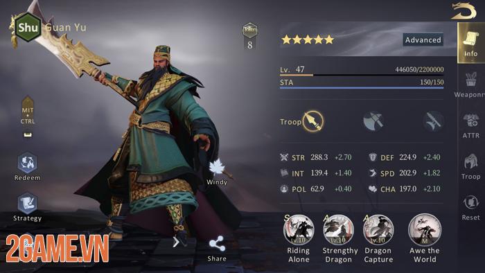Hướng dẫn cơ bản về hệ thống kỹ năng trong Epic War: Throne 1