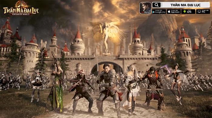 Game thủ đã có thể tải ngay Forsaken World: Thần Ma Đại Lục từ bây giờ 2