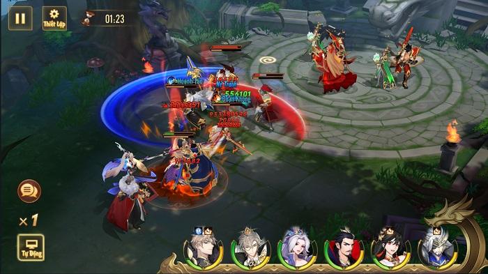Tân OMG3Q VNG tung phiên bản mới Công Thành Chiến với những tính năng siêu hot 0