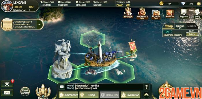 Genesis - Game chiến thuật thời gian thực với những quốc gia thú vị 4