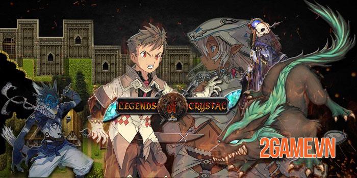 Legends Of Crystal - Game nhập vai hồi sinh phong cách JRPG theo lượt vui nhộn 0