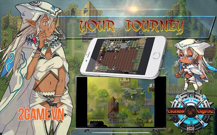 Legends Of Crystal - Game nhập vai hồi sinh phong cách JRPG theo lượt vui nhộn 1