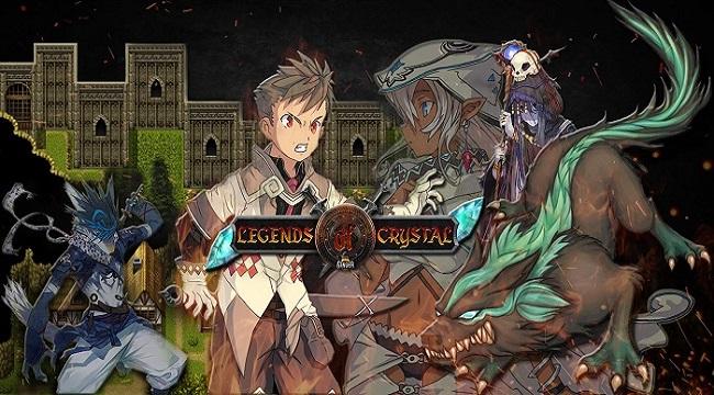 Legends Of Crystal – Game nhập vai hồi sinh phong cách JRPG theo lượt vui nhộn