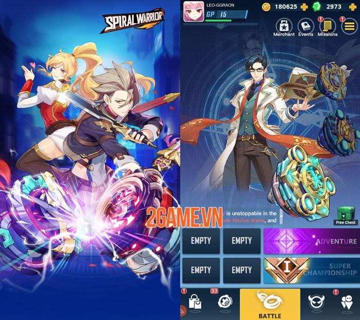 Spiral Warrior - Game nhập vai chủ đề anime từ đội ngũ phát triển Light x Shadow 2