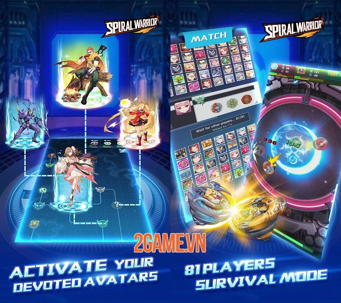 Spiral Warrior - Game nhập vai chủ đề anime từ đội ngũ phát triển Light x Shadow 3