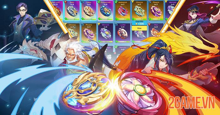 Spiral Warrior - Game nhập vai chủ đề anime từ đội ngũ phát triển Light x Shadow 0