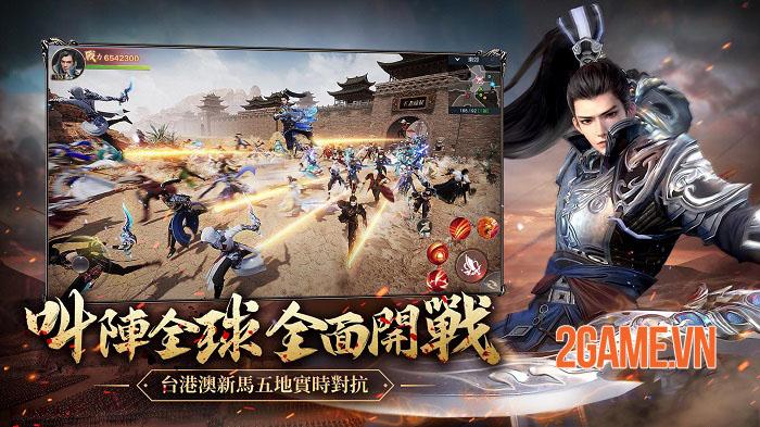 Viễn Chinh 2 Mobile tái hiện những trận quốc chiến chân thực và tráng lệ 1
