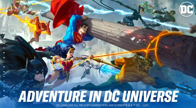 DC Worlds Collide chính thức ra mắt thử nghiệm khu vực Đông Nam Á