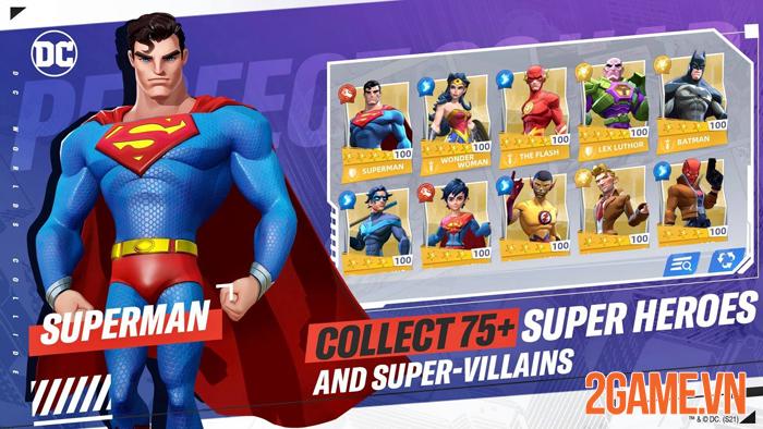 DC Worlds Collide chính thức ra mắt thử nghiệm khu vực Đông Nam Á 1
