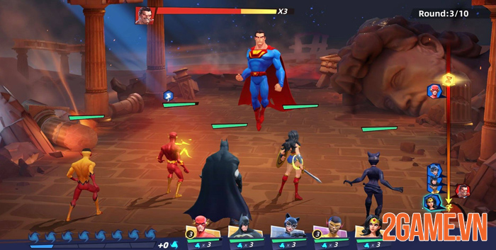 DC Worlds Collide chính thức ra mắt thử nghiệm khu vực Đông Nam Á 3