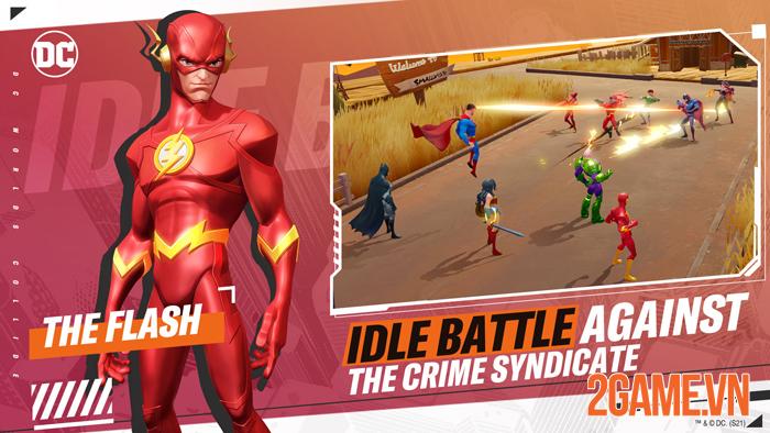 DC Worlds Collide chính thức ra mắt thử nghiệm khu vực Đông Nam Á 2