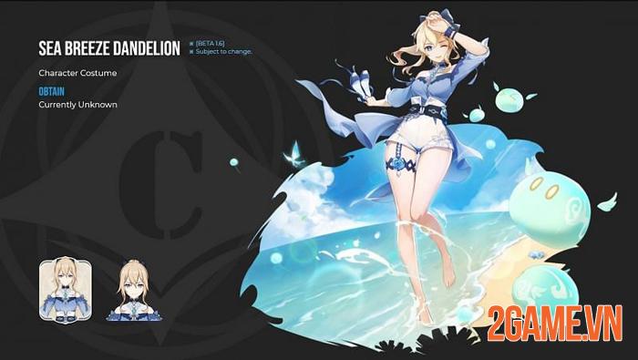Genshin Impact sẽ cập nhật thời trang biển ở phiên bản 1.6 2