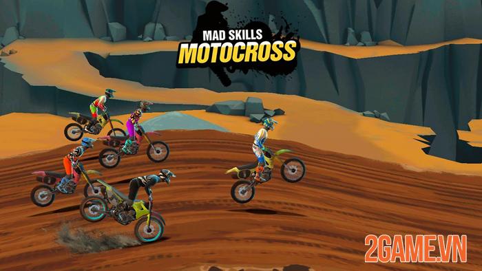 Mad Skills Motocross 3 nhá hàng ngày ra mắt bằng trailer cực
