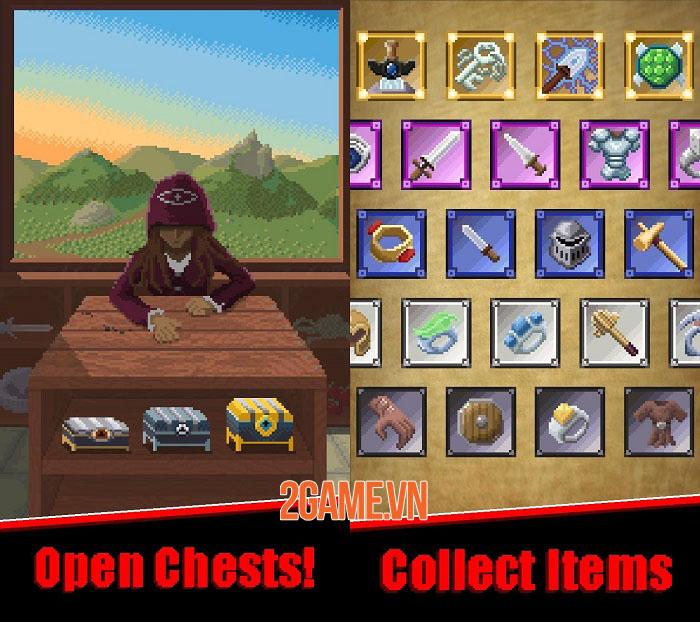 Raven's Path - Game nhập vai chiến thuật thời gian thực phong cách pixel 1